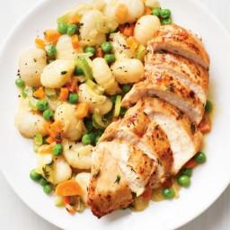 Chicken with Skillet Gnocchi