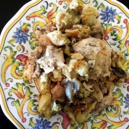 Chicken With Stuffing (slow cooker)