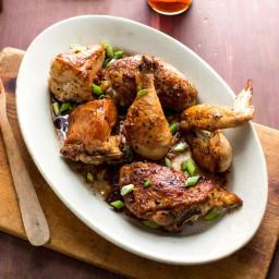 Chicken With Vinegar