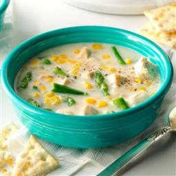 Chicken, Asparagus and Corn Chowder Recipe
