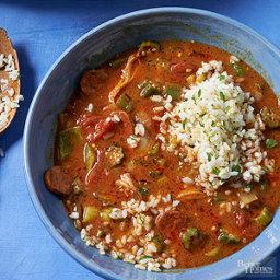 Chicken Chorizo Gumbo