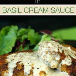 chicken in basil cream recipes | BigOven