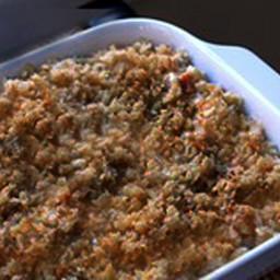Chicken,Penne,Spinach,Gorganzola Gratain