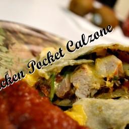Chicken Pocket Calzone