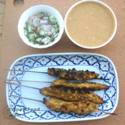 Chicken Satay, 'Satay Gai'