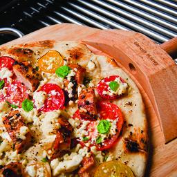 Chicken, Shitake Mushroom and Coriander Pizza