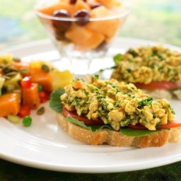 Chickpea and Kale Sandwich Spread or Salad
