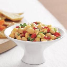 Chickpea and Red Pepper Salsa