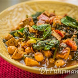 Chickpea and Tofu Curry