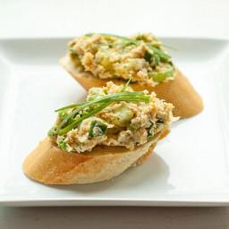 Chickpea Crostini Recipe