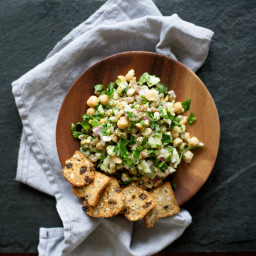 Chickpea Deli Salad from
