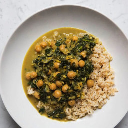 Chickpea & Kale Curry