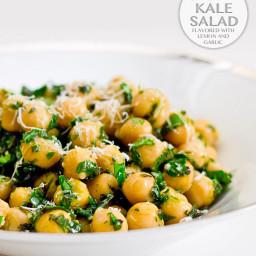 Chickpea Kale Salad recipe