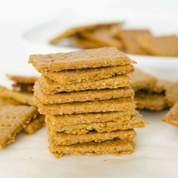 Chickpea Oat Crackers
