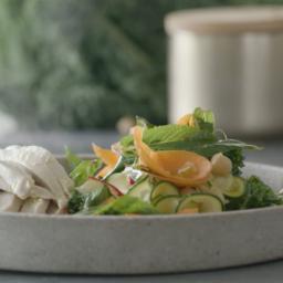 Chickpea Rainbow Salad