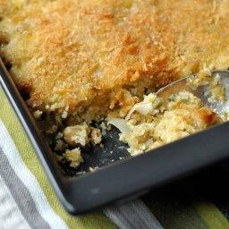 Chickpea Casserole with Lemon, Herbs and Shallots