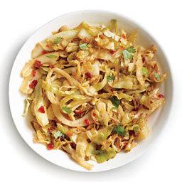 Chile-Garlic Cabbage