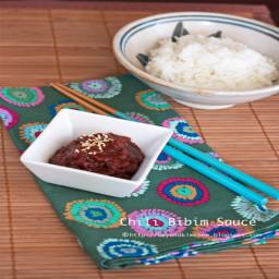 Chili Bibim Sauce (yak gochujang)