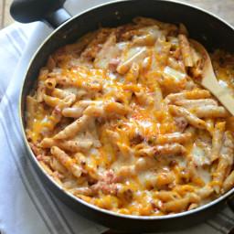 Chili Cheese Dip One Pot Pasta