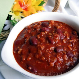 Chili Con Carne in a Flash