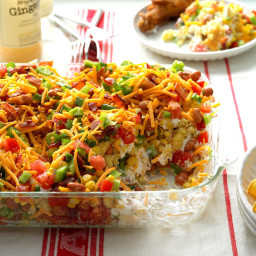 Chili Corn Bread Salad Recipe