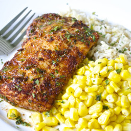 Chili-Lime Cod Fillets