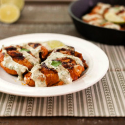 Chili Lime Cream Grilled Chicken