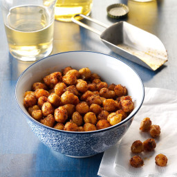 Chili-Lime Roasted Chickpeas Recipe