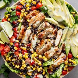 Chili Lime Southwestern Chicken Salad
