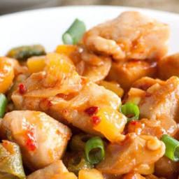 Chili Mango Cashew Chicken