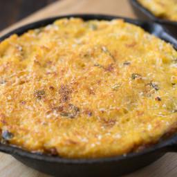 Chili polenta skillet pies