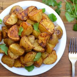 Chili Roasted Potatoes