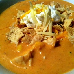 Chili's copycat Chicken Enchilada Soup