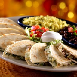 Chili's veggie quesadillas