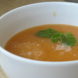 Chilled Cantaloup Soup