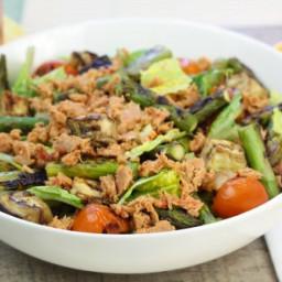 Chilled Grilled Veggie Tuna Salad [No Mayo]