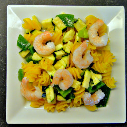 Chilled Shrimp Quinoa Pasta Salad (DailyBurn Ignite)
