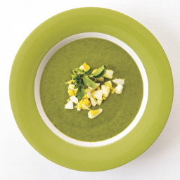 Chilled Watercress-Spinach Soup