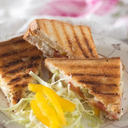 Chilli Cheese Toast Sandwich