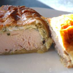 Chimichurri Chicken en Croute