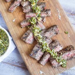 Chimichurri Skirt Steak