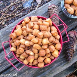 ChinChin(African cookies) (LazyChef Christmas)