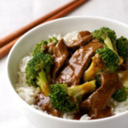 Chinese Beef and Broccoli (Extra Saucy Take Out Style)