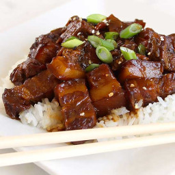 Chinese Braised Pork in Brown Sauce