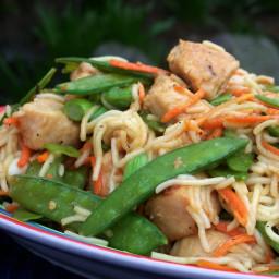 Chinese Chicken Spaghetti