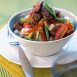 Chinese crispy beef stir fry