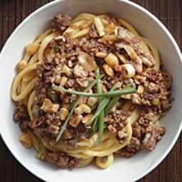 Chinese Egg Noodles with Five-Spice Pork