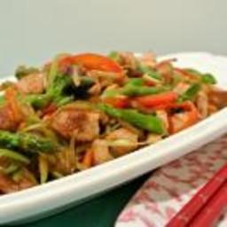 Chinese five spice chicken stir fry