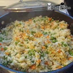 Chinese Fried Cauliflower Rice