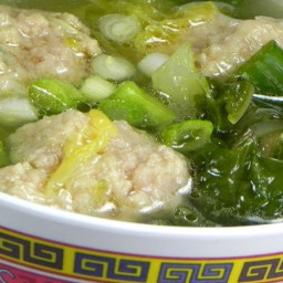 Chinese Lion's Head Soup